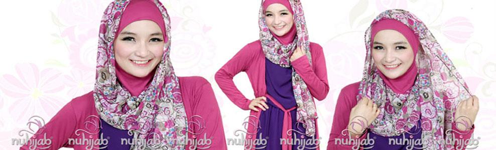 Jilbab Catik Nuhijab Bandung | Shawl | Collection