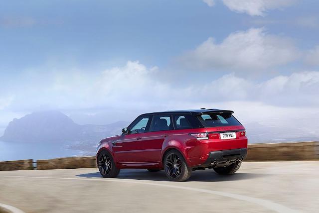 2016 Land Rover Range Rover Sport HST red