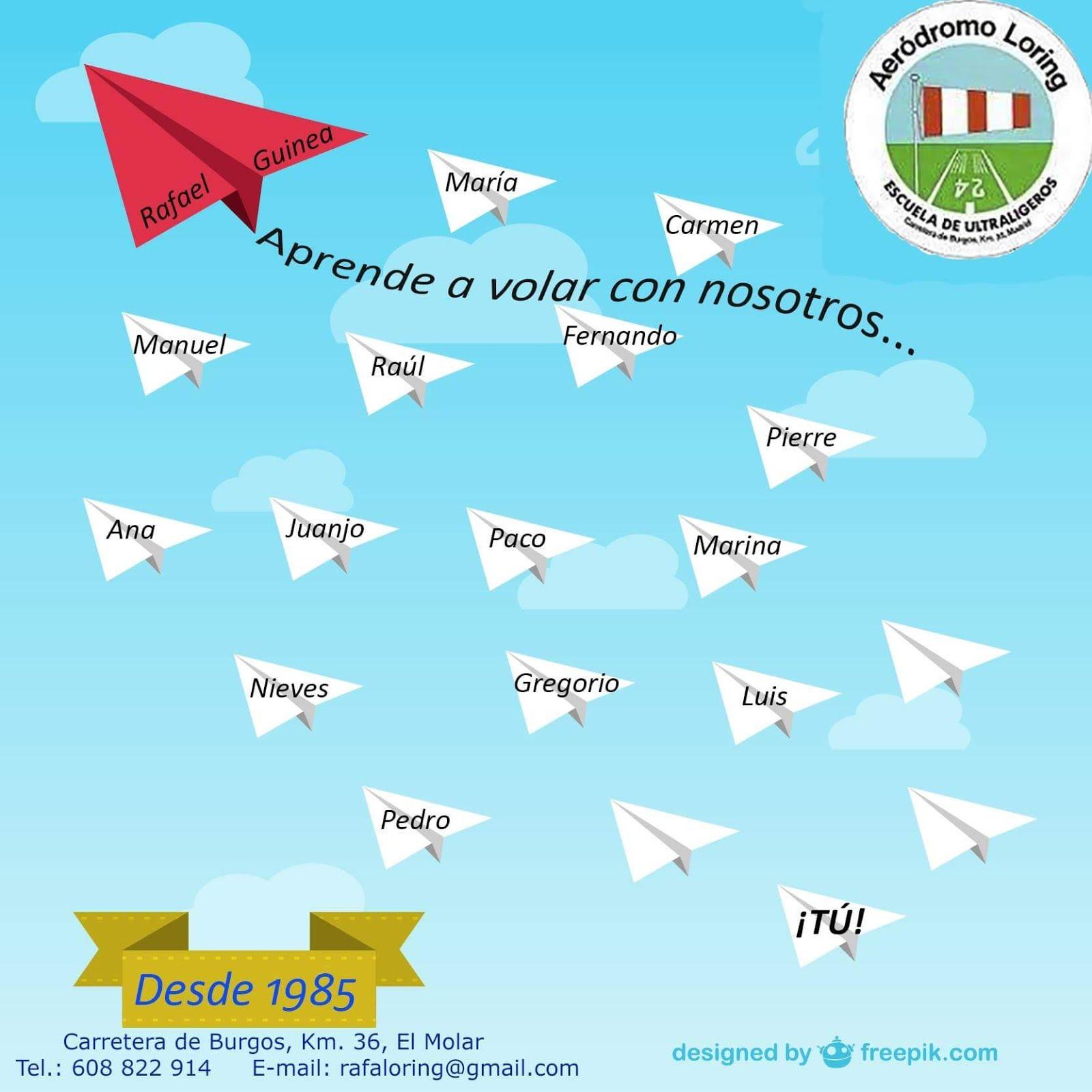 Aprende a Volar con nosotros
