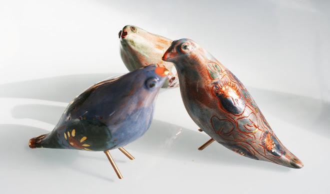 """"""" Oiseaux fleuris """""""