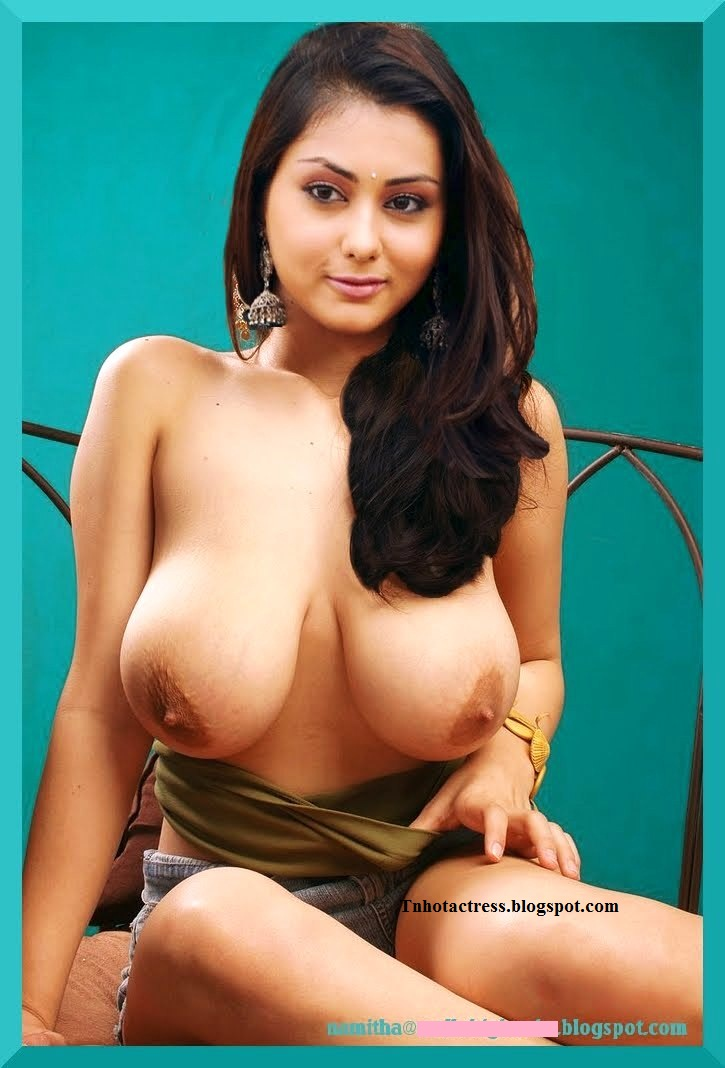 Namitha Big Boobs Huge Busty White Melons