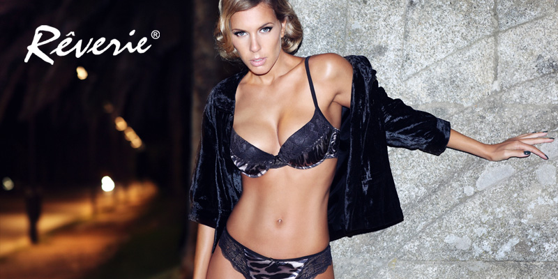 Lingerie Rverie - linha Wild