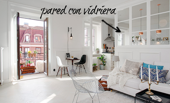 apartamento blanco white house homepersonalshopper decoracion