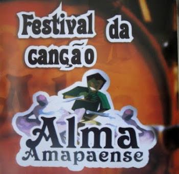 """FESTIVAL DA CANÇÃO """"ALMA AMAPAENSE"""". Clique no CD e assista ao vídeo"""