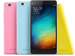 Harga dan Spesifikasi Xiaomi Mi 4i