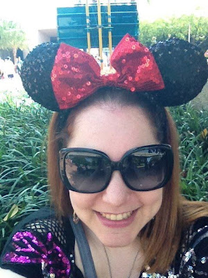 headband, crazy headbands, Jamie Allison Sanders, 1980s, 1990s, #tbt, Throwback Thursday, Minnie Mouse ears headband, Walt Disney World, selfie
