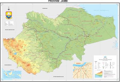 Nama Kabupaten/ Kota Di Provinsi Jambi