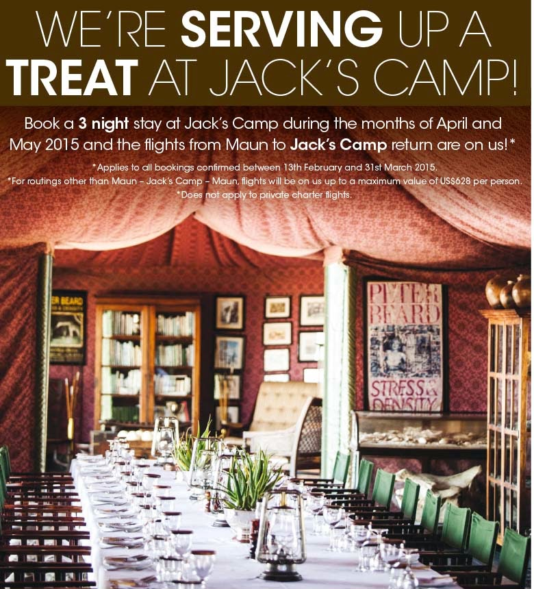 Jack's Camp special offer - Botswana