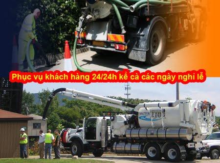 Công ty hút hầm cầu TPHCM