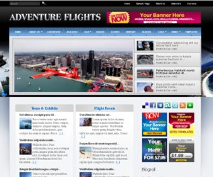 Adventure Flights WordPress Theme