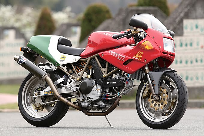 Racing Caf    Ducati 900 SS Special