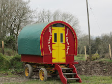 Old Oak Gypsy Wagon, Penyrallt Home Farm
