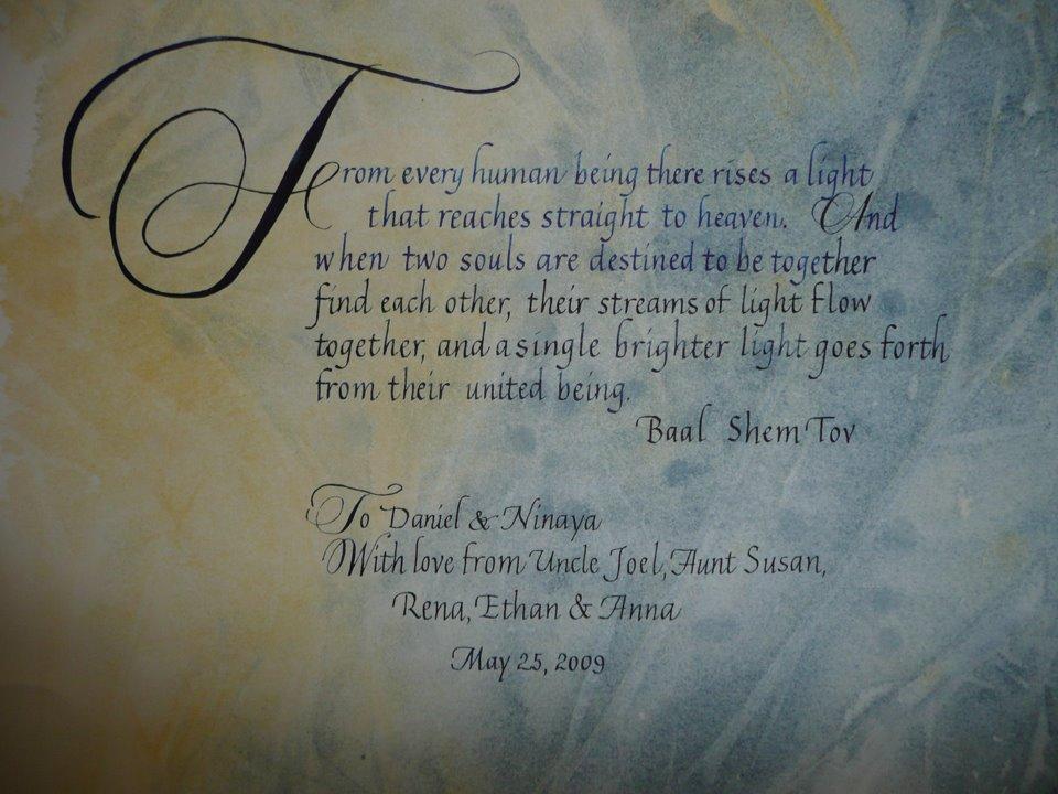 Deann Singh Calligraphy Copperplate Workshops
