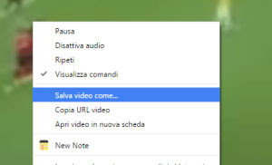 salva video facebook su pc
