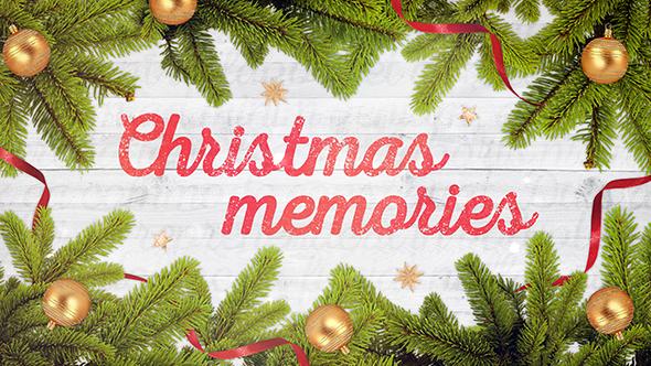 VideoHive Christmas Memories