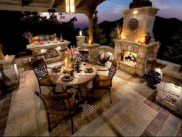 Tuscan Style Patio Ideas
