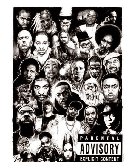 100 hip hop and rap: