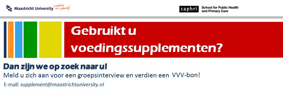 Supplementgebruik in Nederland