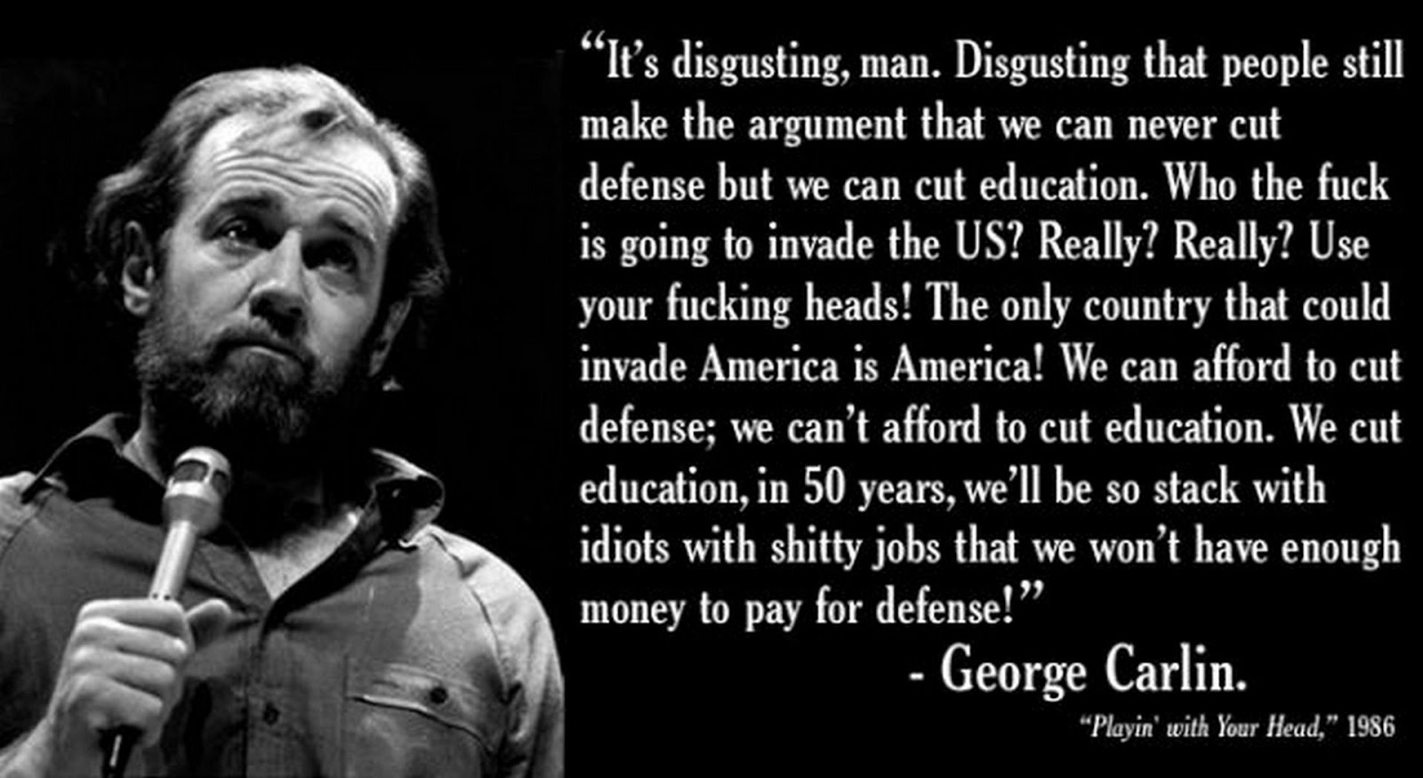 George Carlin Quotes On People. QuotesGram