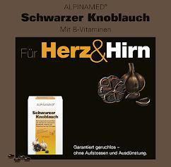 Alpinamed Schwarzer Knoblauch