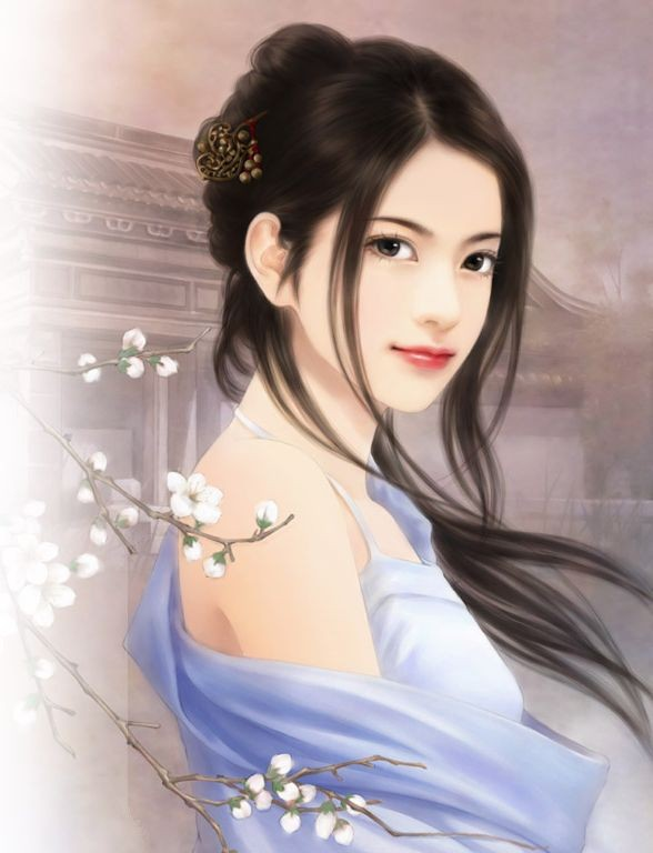 Chinese Girl Paintings Best Profile Pics