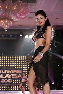 Nadine Ann Thomas Miss Universe Malaysia 2010 Hot Photo Gallery 7