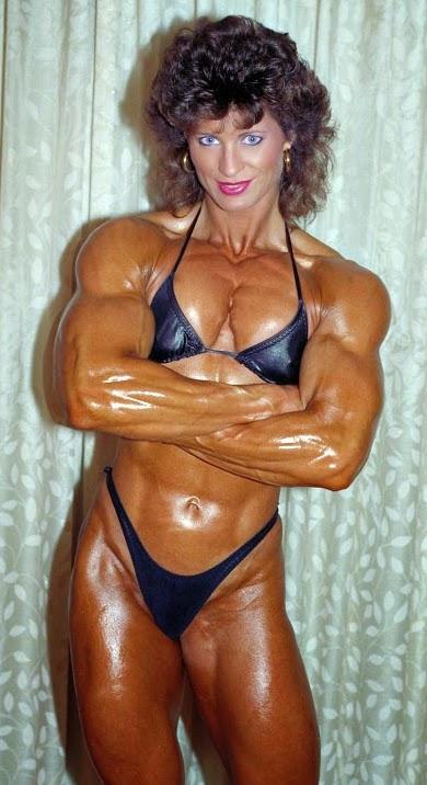 80's Female Muscle: Joanne McCartney