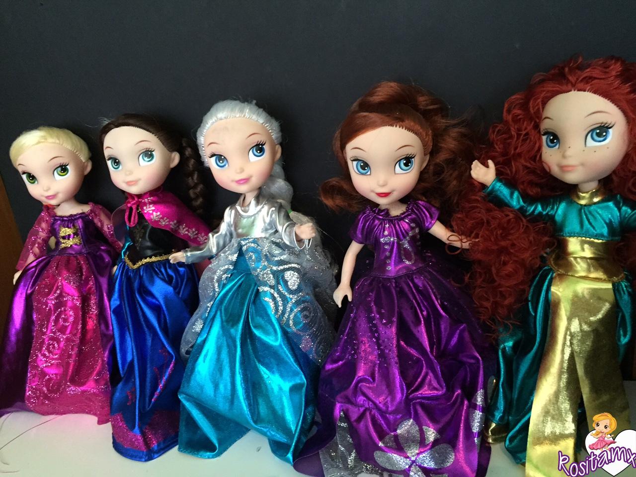 Princesas Medianas $95.00 Pesos