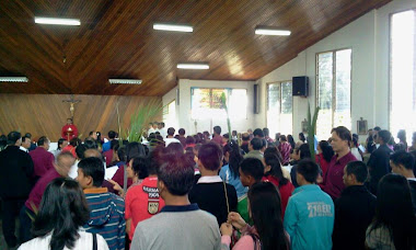 AT ST. PIUS CHURCH BUNDU TUHAN