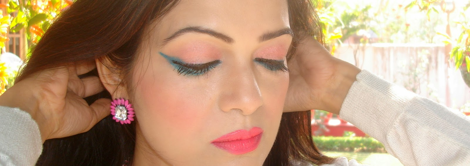 Valentines Day look using Maybelline Instaglam gift kit