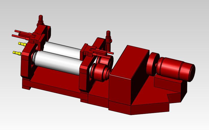 2 roll mill machine