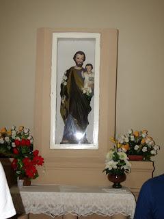 Imagens da Santa Missa na Capela de São José