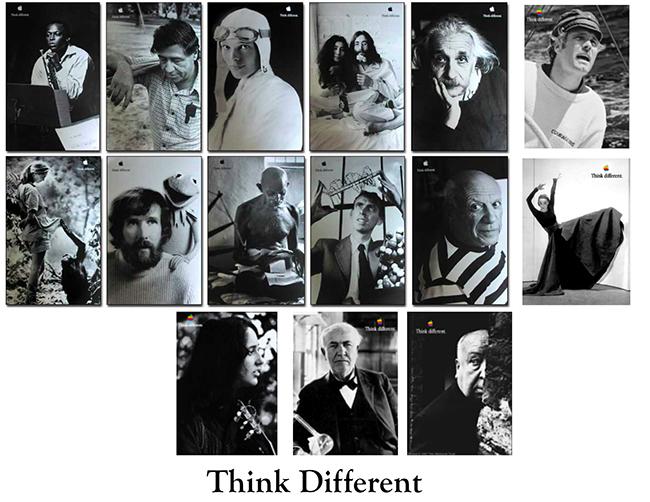 Think Different:燭照未來 蘋果最著名的廣告