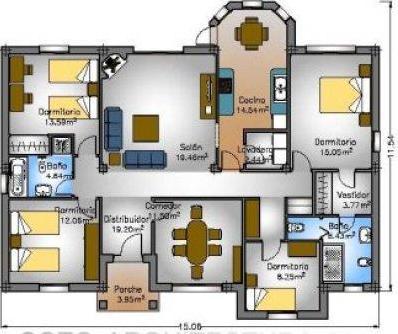 Planos de casas modelos y dise os de casas planos gratis for Hacer tu casa en 3d