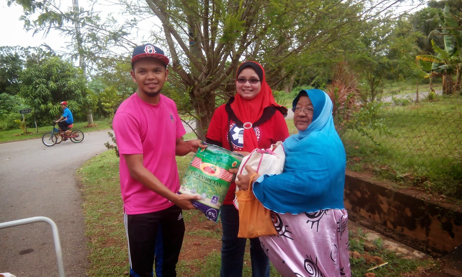 Program Bakti Siswa (BAKSIS) u3p di Bukit Larang Melaka, u3p usim