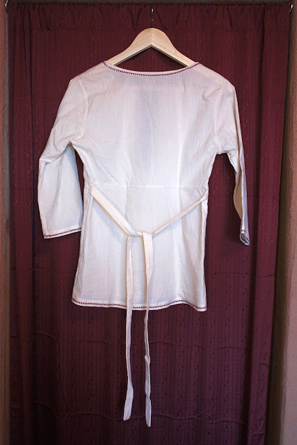 Sew Liberated Schoolhouse Tunic Muslin Back