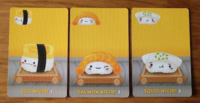 Sushi Go - nigiri cards | Random Nerdery