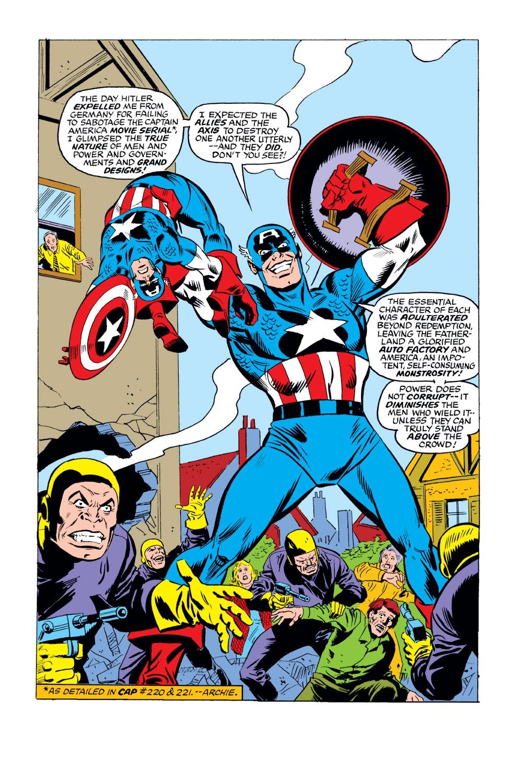 Captain America (1968) Issue #221 #135 - English 6