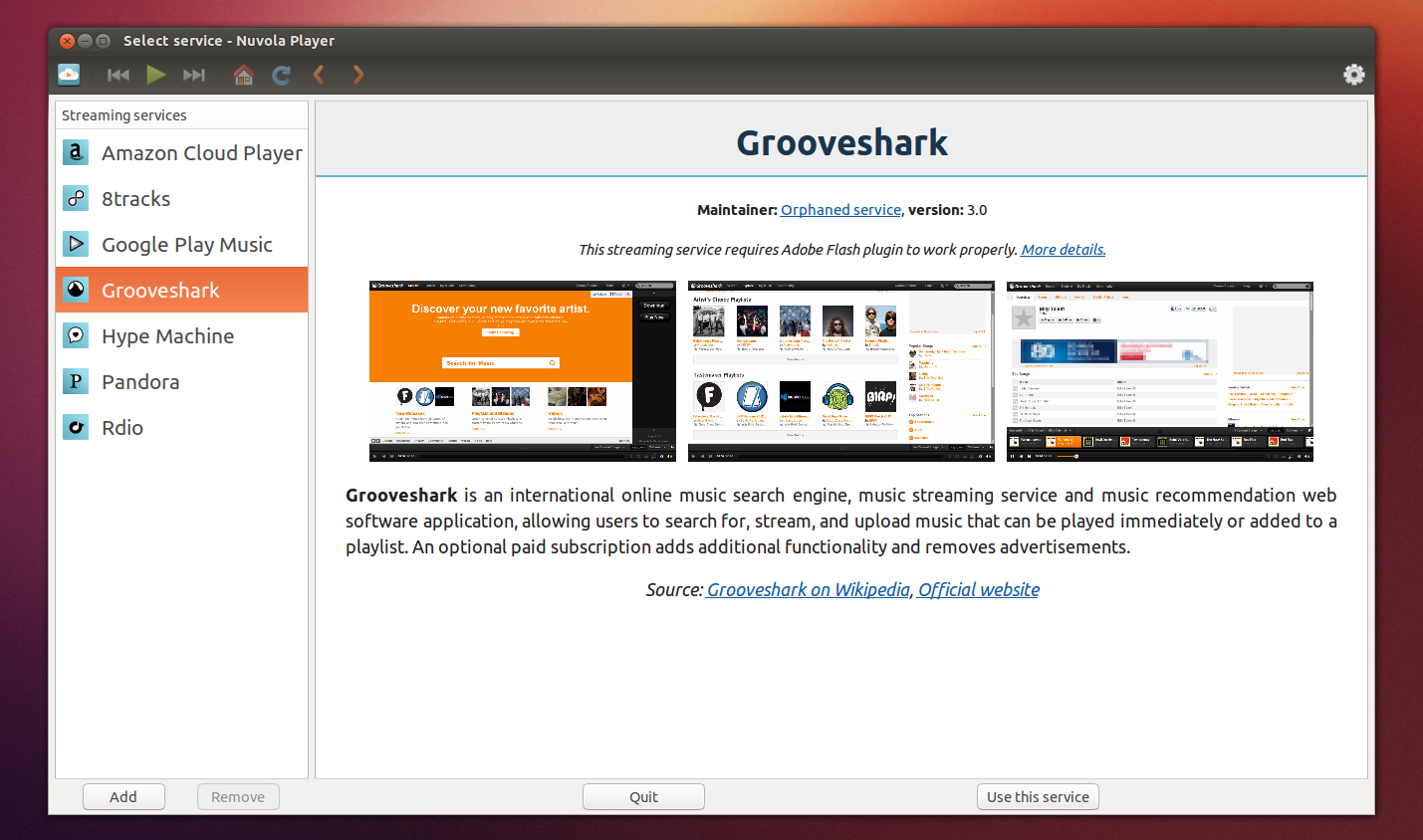 Cloud Music Player `Nuvola` Sees New Stable Release ~ Web Upd8 ...