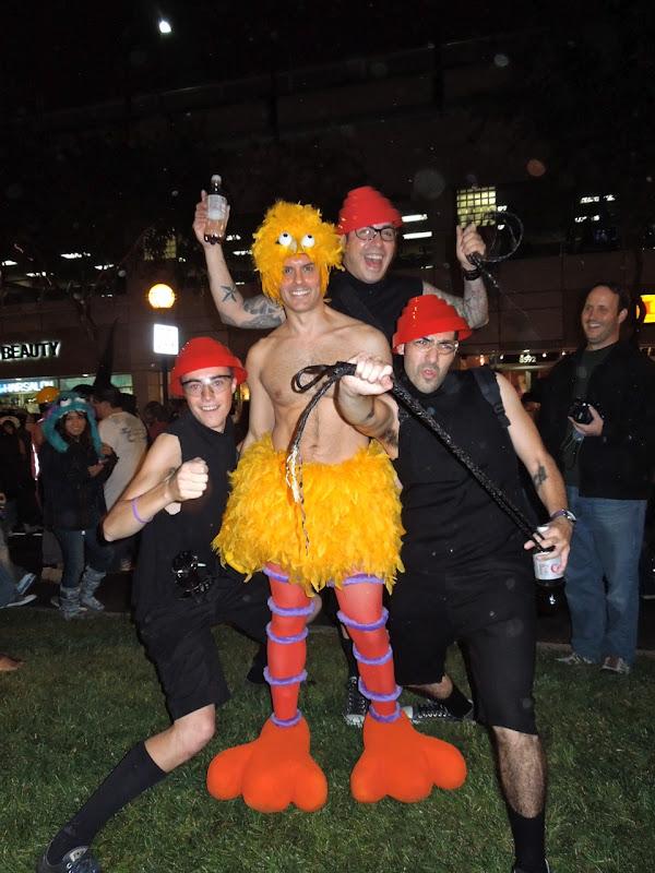Big Bird West Hollywood Halloween Carnaval