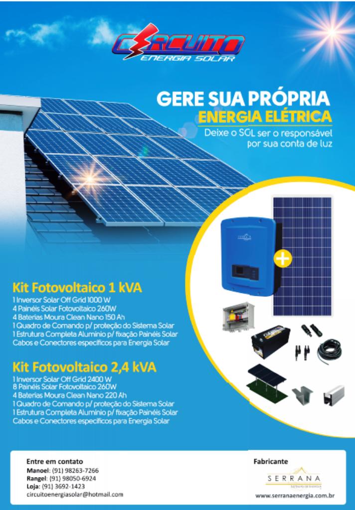 Circuito Energia Solar