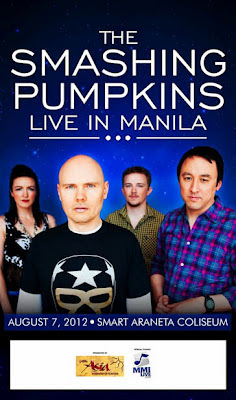 Smashing Pumpkins Concert Manila Philippines August 2012