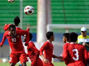 Timnas Garuda Saat Latihan