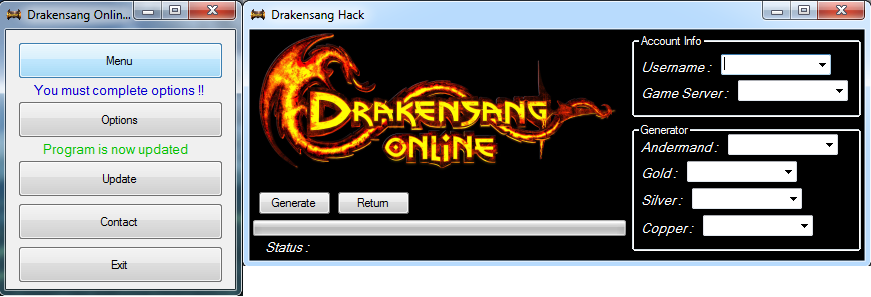 Drakensang Online Cheat Trainer v3.0