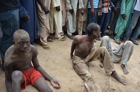 boko haram arrested borno
