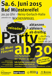 Party ab 30 Reloaded Flyer