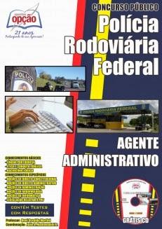 Apostila Agente Administrativo Concurso Departamento de Policia Rodoviária Federal-PRF 2014