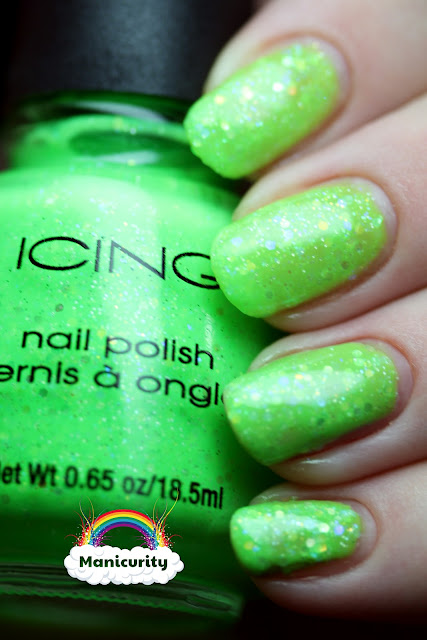 Manicurity: Rainbow Favorites - Green - Icing 'What Planet are You On?'