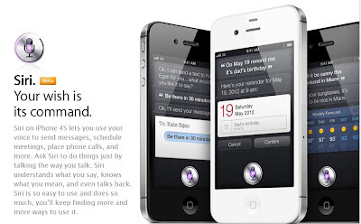 iPhone 4s Special Features SIRI