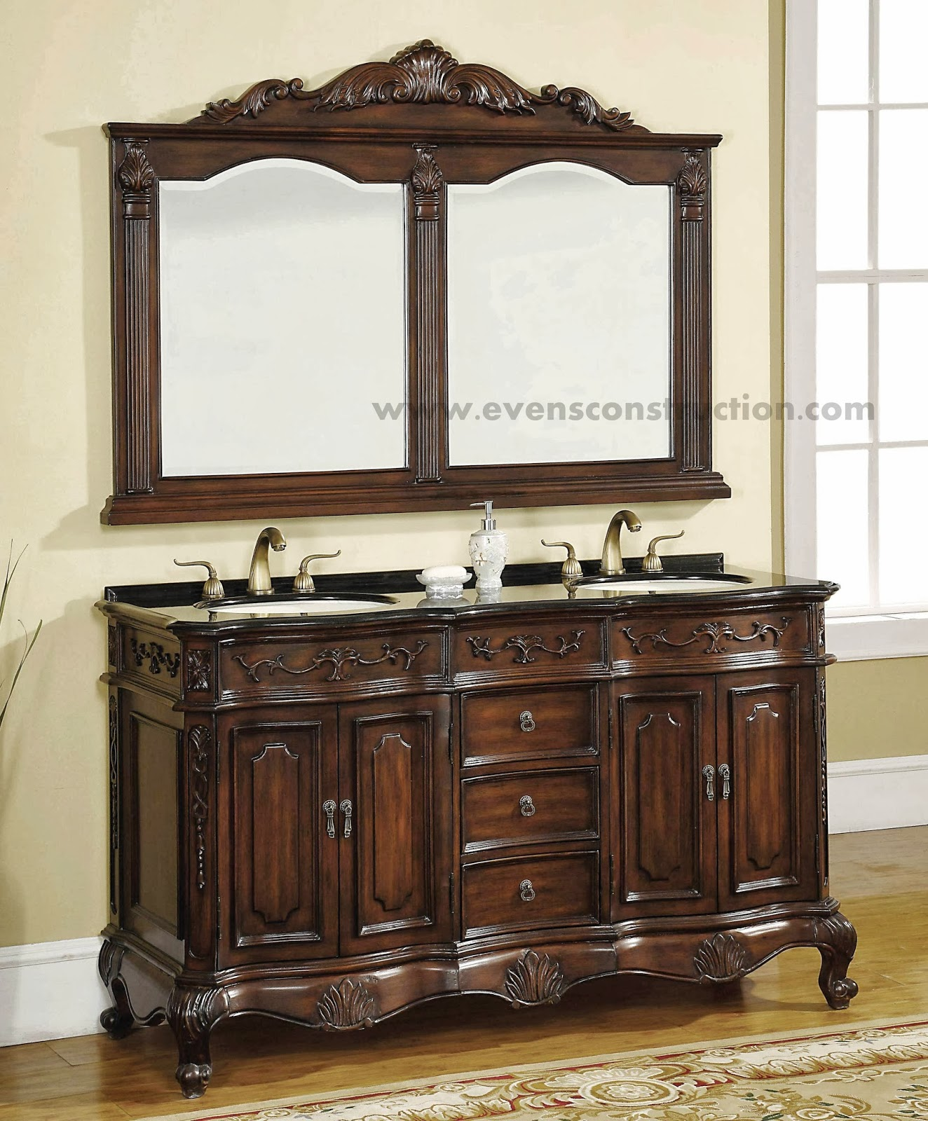 Decorative Bathroom Vanity Wall Mirrors : Evens construction pvt ltd bathroom mirrors gallery
